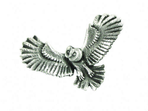 Owl In Flight Pin